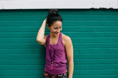 how to fit exercise into a busy schedule - Health Coach Marissa Vicario poses in fitness clothes - Where I Need to Be