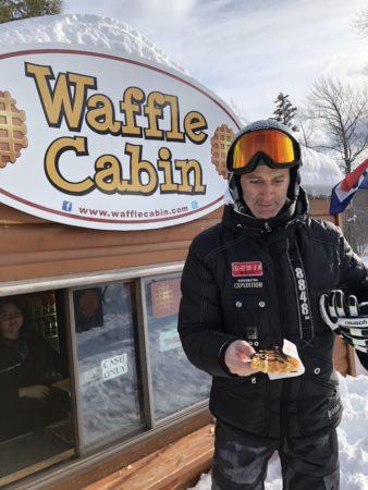 Winter weekend in Vermont | Marissa Vicario | Waffle Cabin at Okemo Mountain